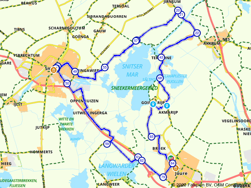 Snitsermar route