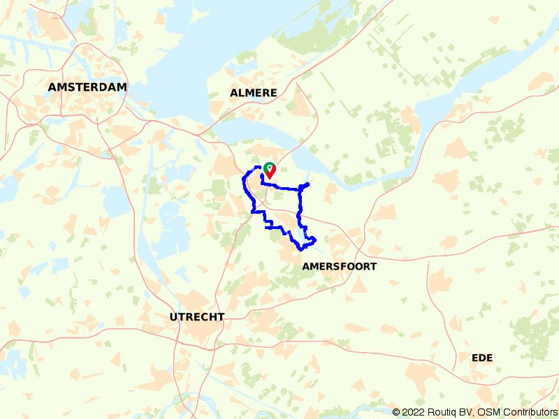 Vanuit de Eemvallei naar de Utrechtse Heuvelrug