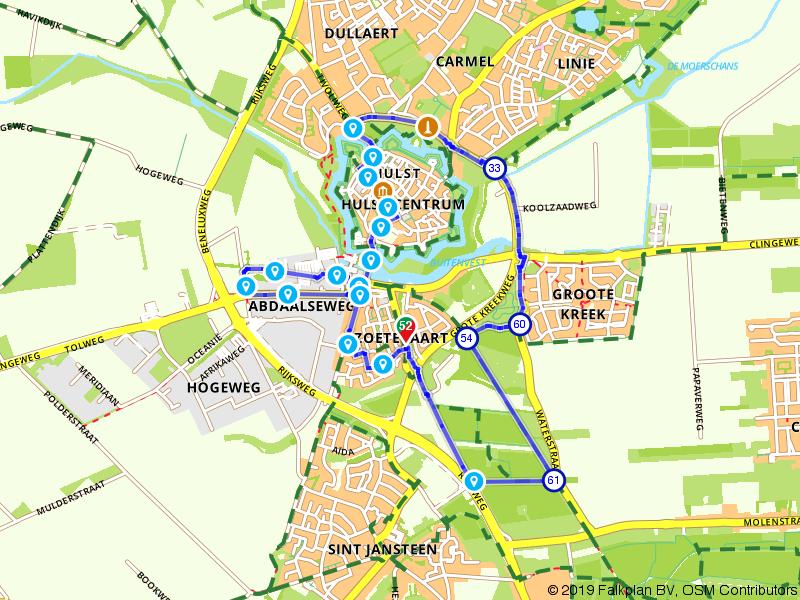 Heerlijk wandelen in Hulst