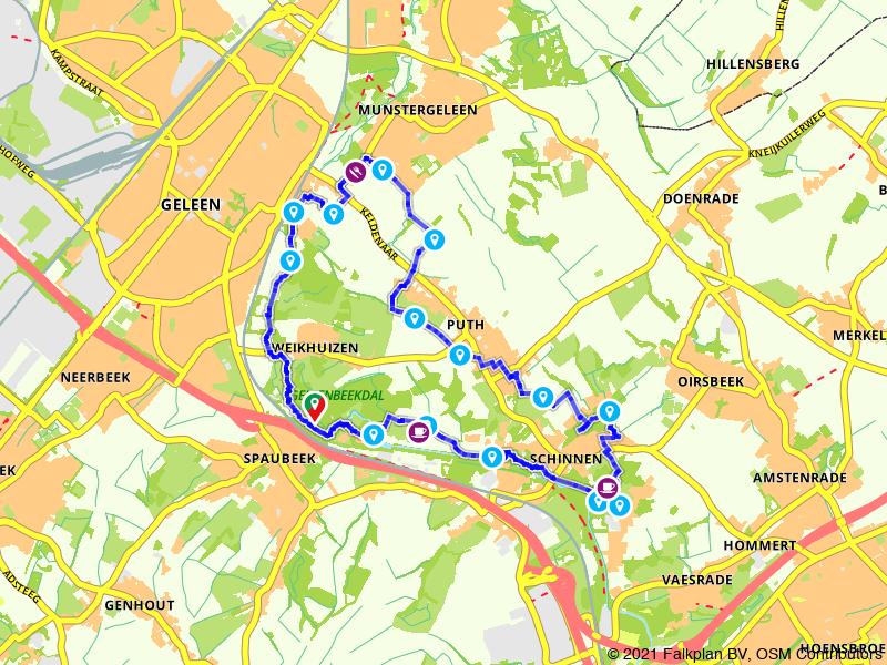 Een Bourgondische wandeling door het Geleenbeekdal