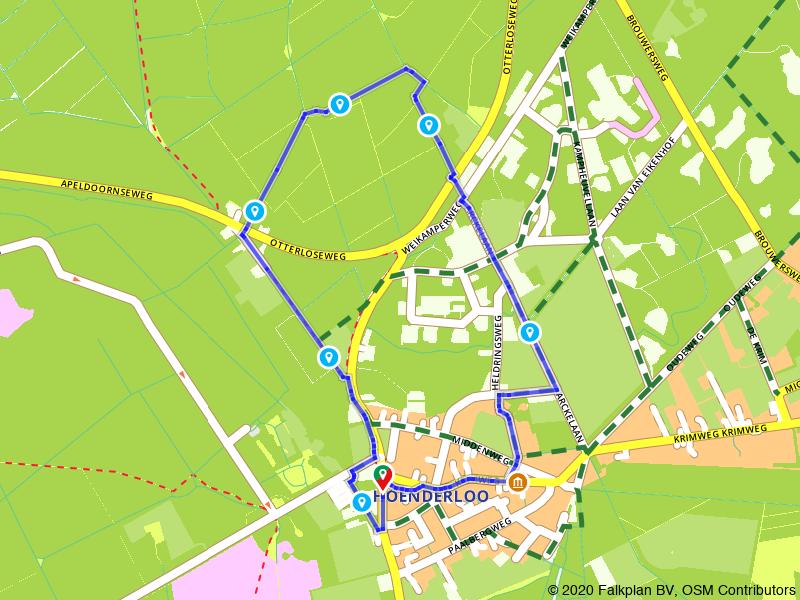 Rondje Hoenderloo en Nationaal Park De Hoge Veluwe