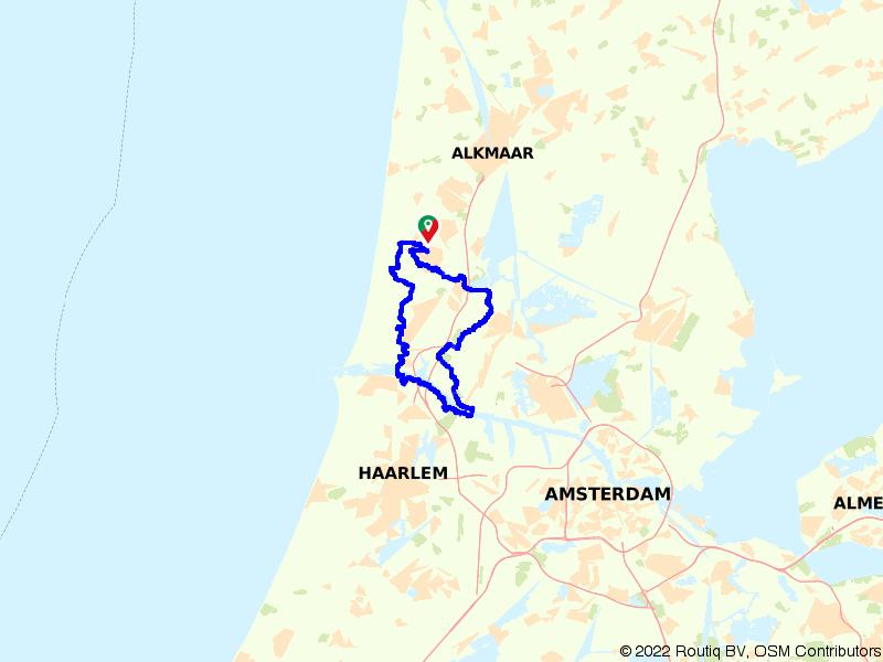 Fortenroute Castricum en het Noordzeekanaal