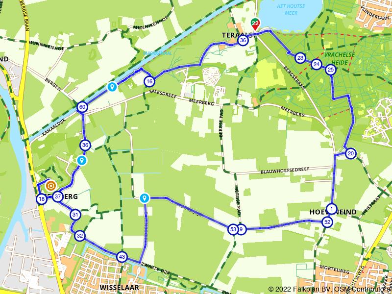 Wandelen in het buitengebied van Breda