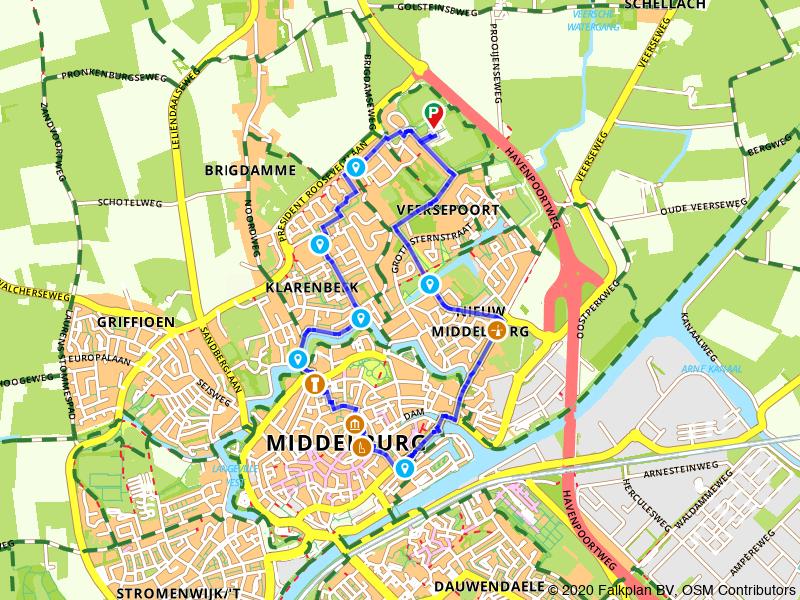 Stadswandeling Middelburg