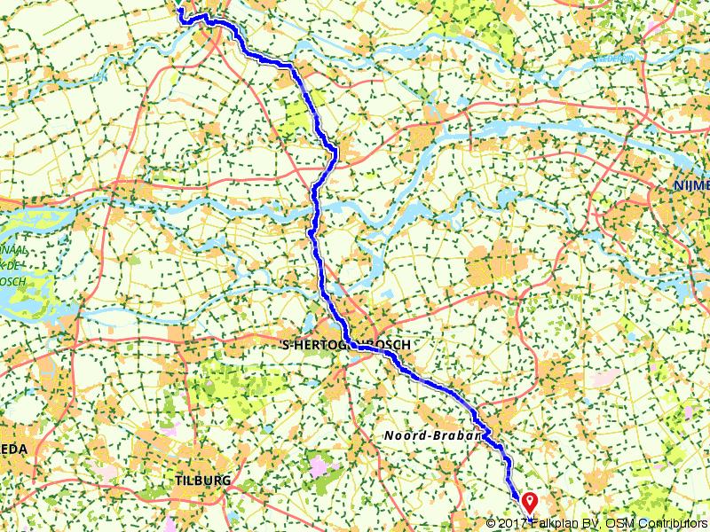 Van IJsselstein naar Lieshout