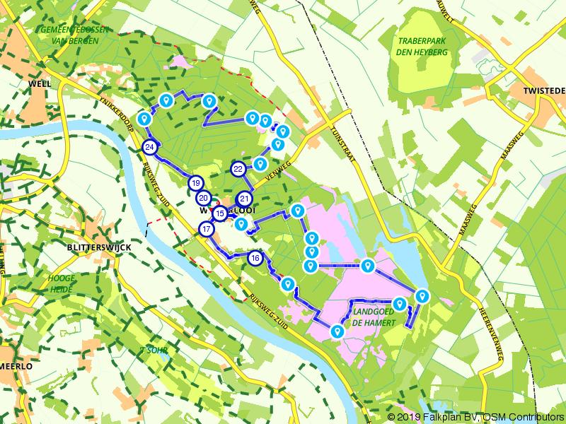 De Wellsche Heide en Landgoed de Hamert