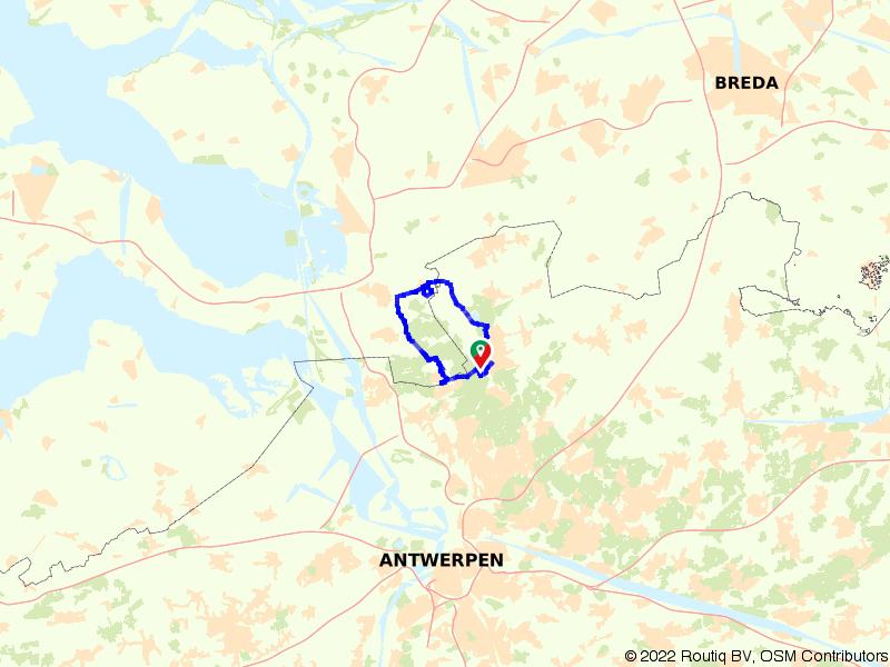 Kalmthoutse Heide route