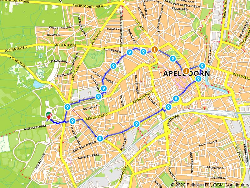 Historische stadswandeling door Apeldoorn