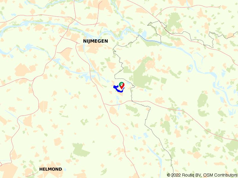 Wandelen door het Niersdal vanuit Heldro IJssalon