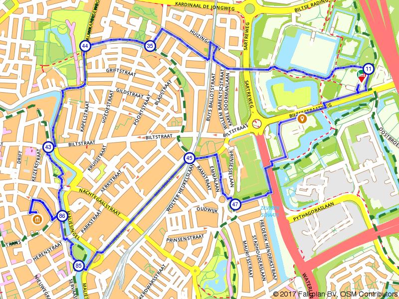 Wandelen door Utrecht