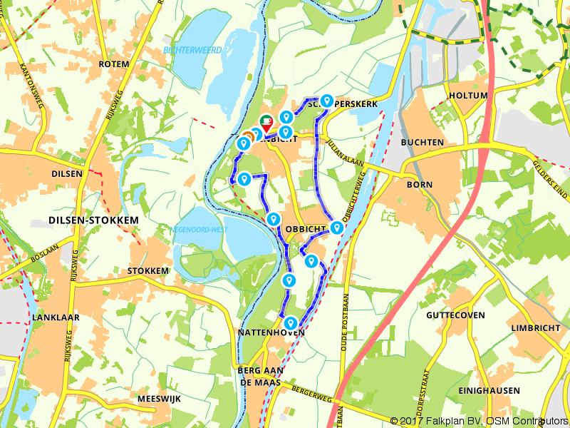 Op pad van Grevenbicht naar Obbicht