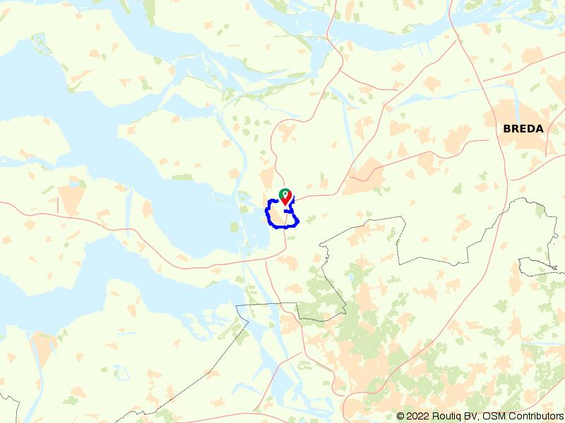 Ontdek Bergen op Zoom op de fiets