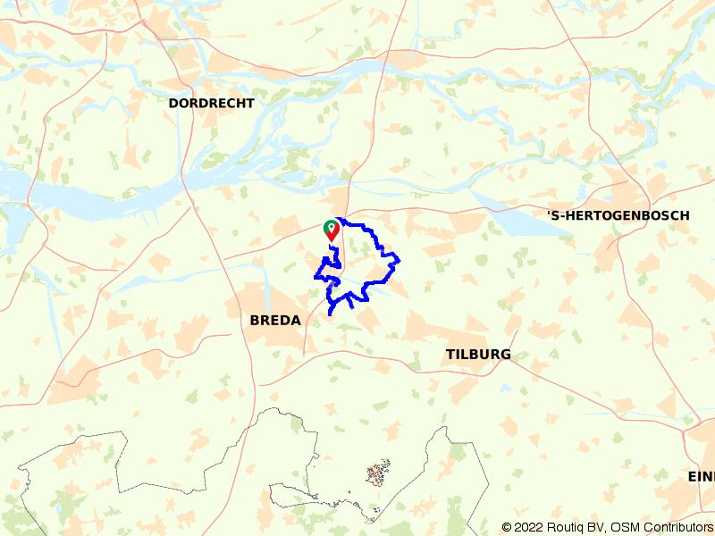 Fietsen door gezellige Brabantse plaatsjes