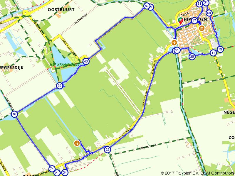 Historische molens bekijken rondom Schipluiden