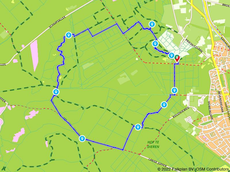 Wandelen door Nationaal Park Veluwezoom