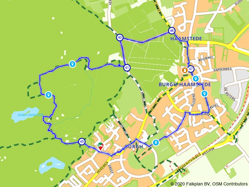 Wandelen door Burgh-Haamstede