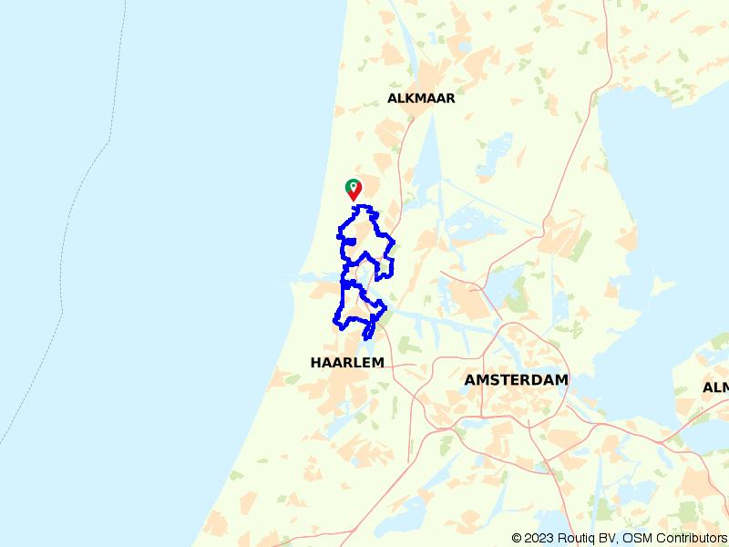 Wandelen over het IJmondpad – winterroute