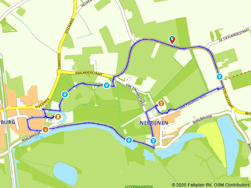 Wandelen over Landgoed Waardenburg en Neerijnen