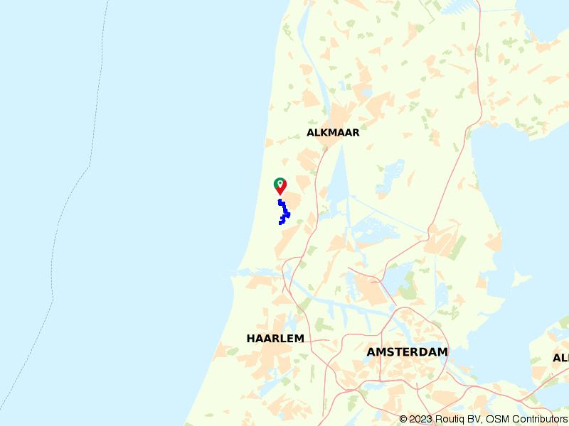 Te voet door het Noordhollands Duinreservaat