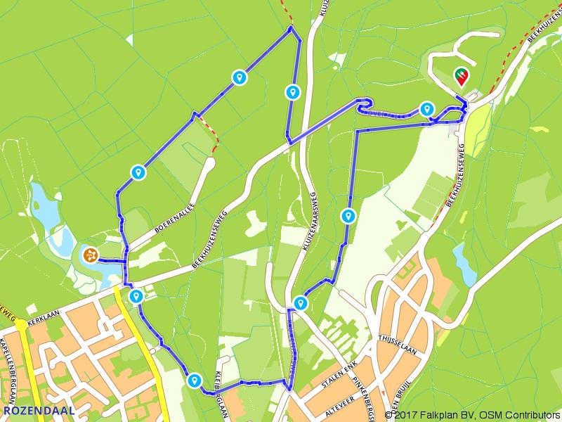 Wandelen bij Kasteel Rosendael