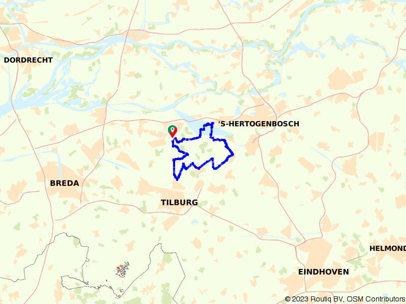 Lekker fietsen door de Loonse & Drunense Duinen
