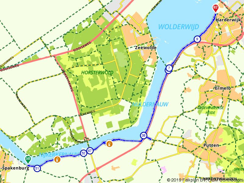 Gelderland 1 | De polder en de Zuiderzee: Arkemheen – Harderwijk