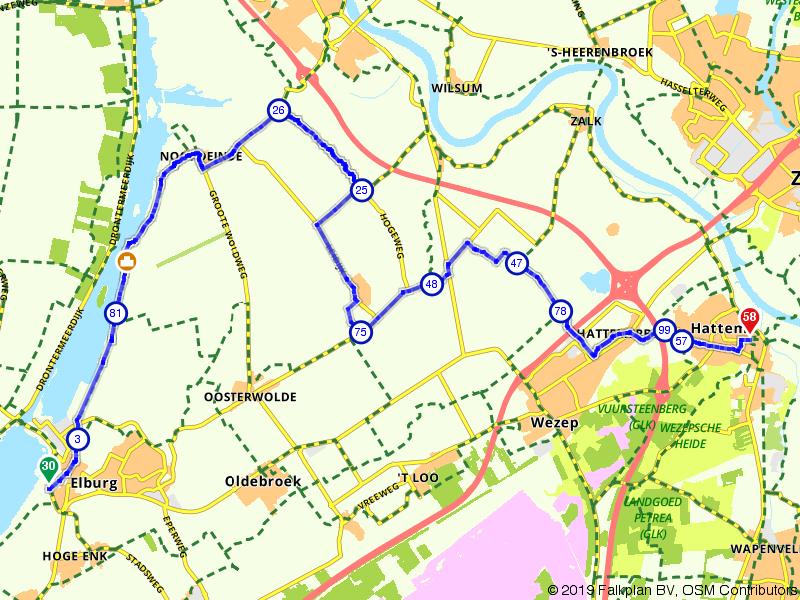 Gelderland 3 | De kop van Gelderland: Elburg – Hattem