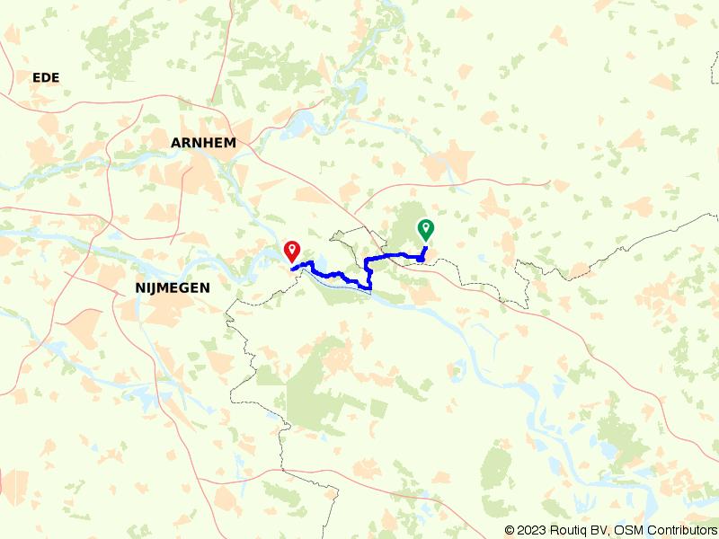 Gelderland 15 | De oevers van de Rijn: 's Heerenberg – Millingen aan de Rijn