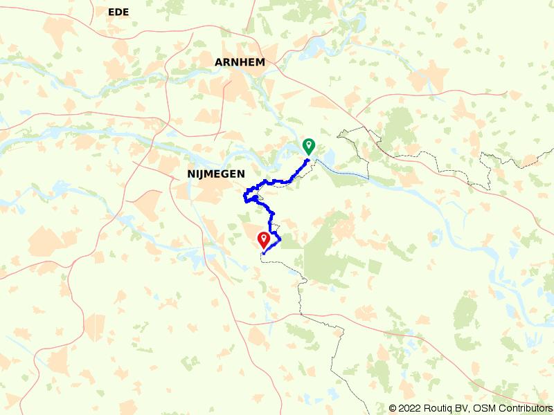 Gelderland 16 | Van Gelderse Poort naar Reichswald: Millingen aan de Rijn – Grafwegen