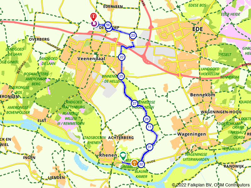 Gelderland 26 | Langs de Grebbelinie: Grebbeberg – De Klomp