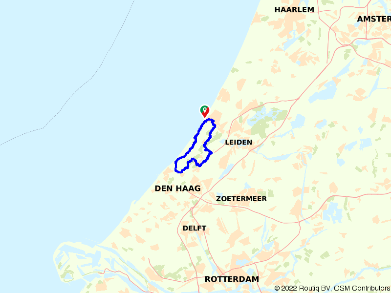 Duinen- en landgoederenroute
