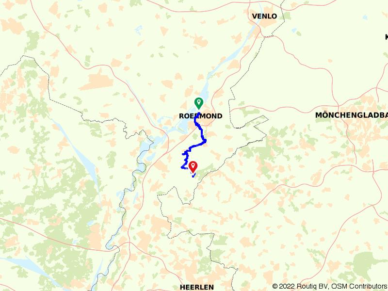 Overkwartier 8 | Op weg naar de Roerdriehoek: Roermond – Maria-Hoop