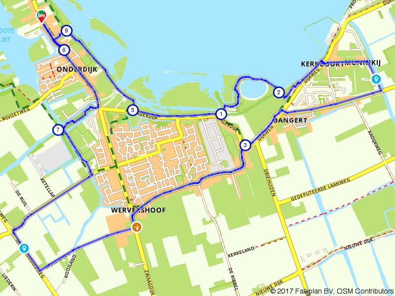 Rondje Wervershoof en IJsselmeer