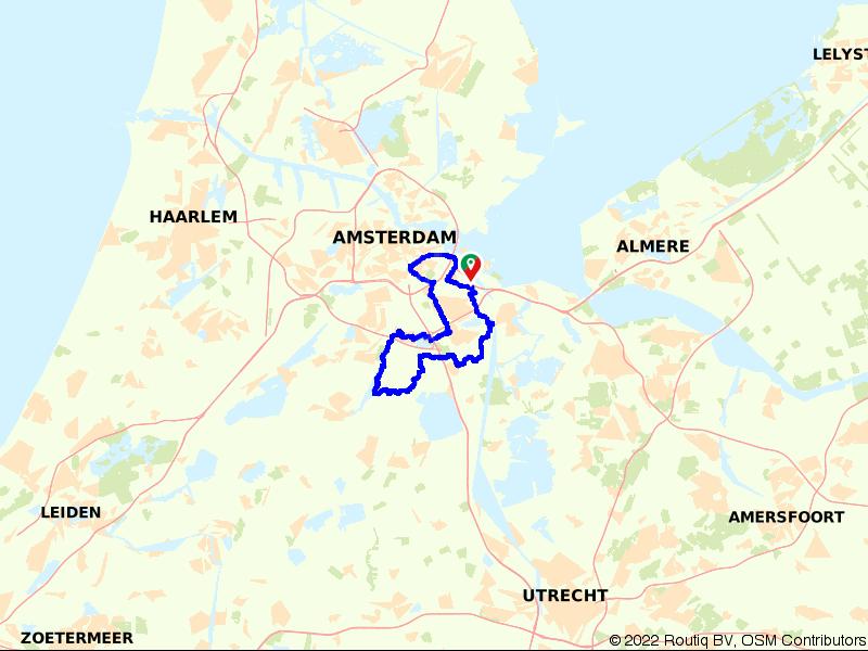 Amsterdam, pittoreske dorpjes en oer-Hollandslandschap