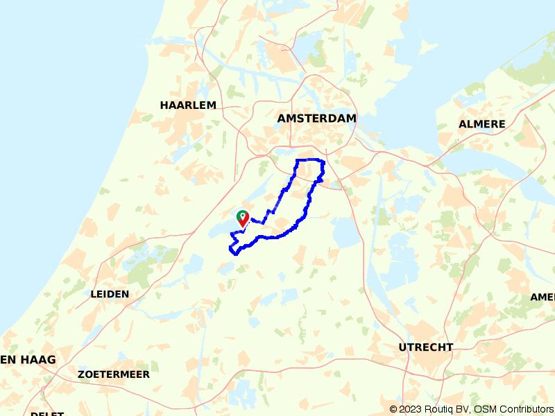 Amstelland Veenpolder route