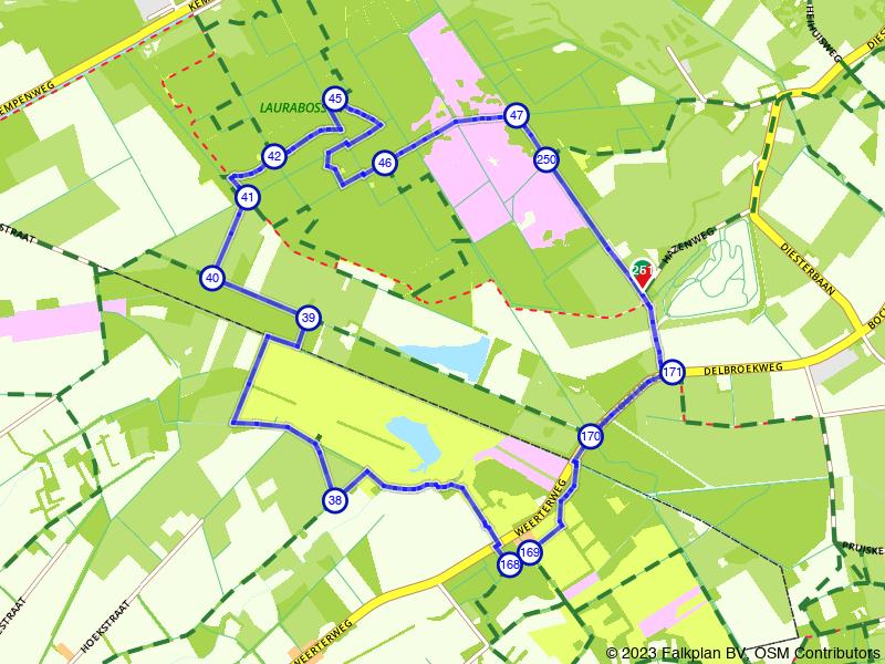 Grensoverschrijdend natuurgebied Kempen-Broek: Laurabossen en Smeetshof