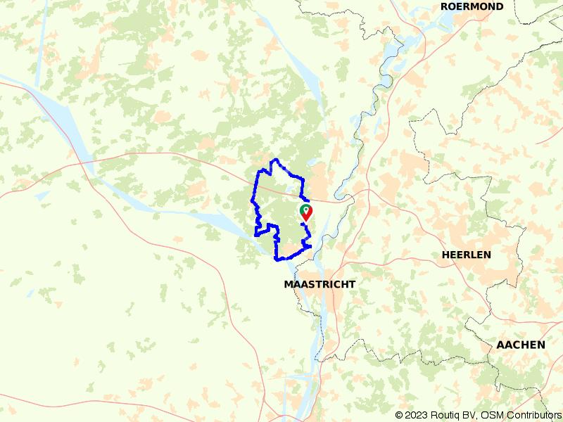 Meander mee in het grensgebied van de Maas