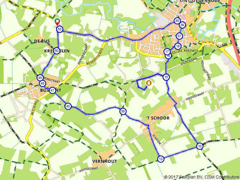 Wandelen door het buitengebied van Sint-Oedenrode