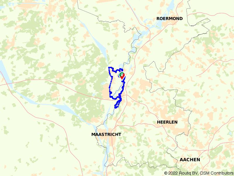 Op de fiets van Dilsen-Stokkem naar Maasmechelen