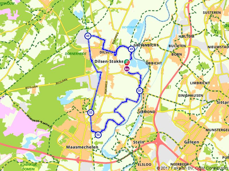 Ontdek de omgeving van Dilsen-Stokkem