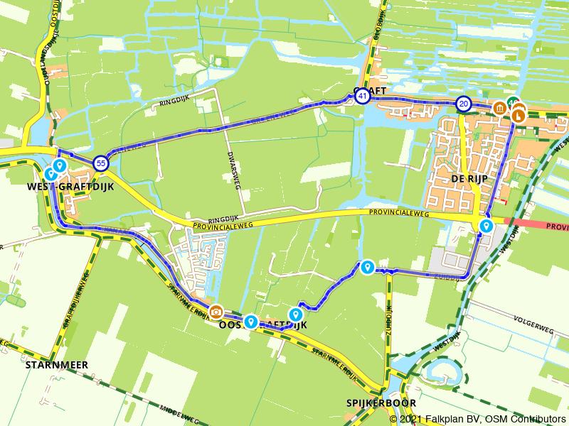 Wandeling Oost- en Westgraftdijk