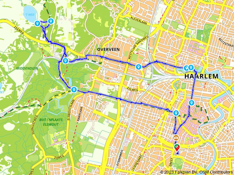Rondje Haarlem en Nationaal Park Zuid-Kennemerland