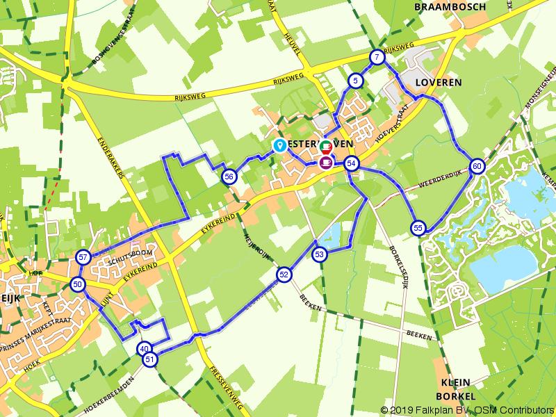 Een achtje rond Westerhoven