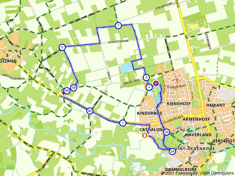 Wandelen door Sint-Oedenrode
