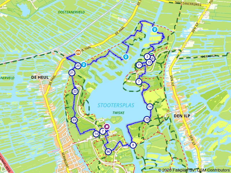 Vogels spotten: Oostzanerveld, Stootersplas en Twiske