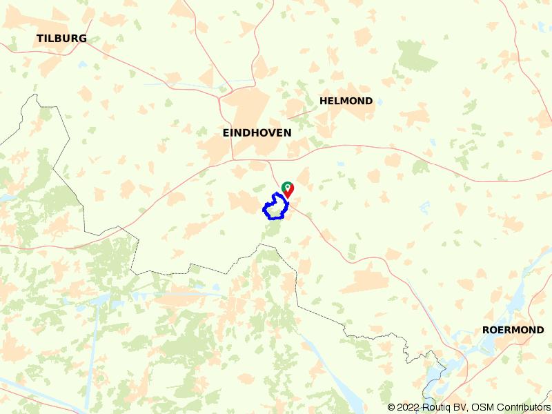 Vogelparadijs Valkenhorst en het Leenderbos