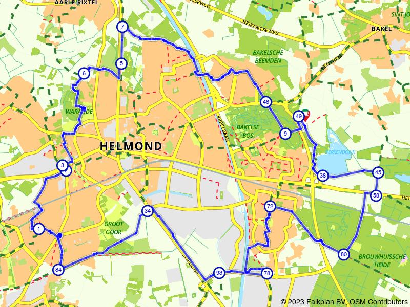 Rondje Helmond: voormalige dorpen en natuurgebieden