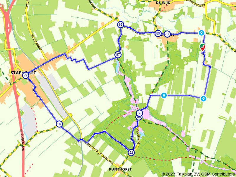 Ontdek Staphorst en de bossen