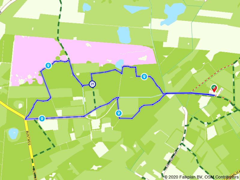 Wandelen door Landgoed de Oude Buisse Heide