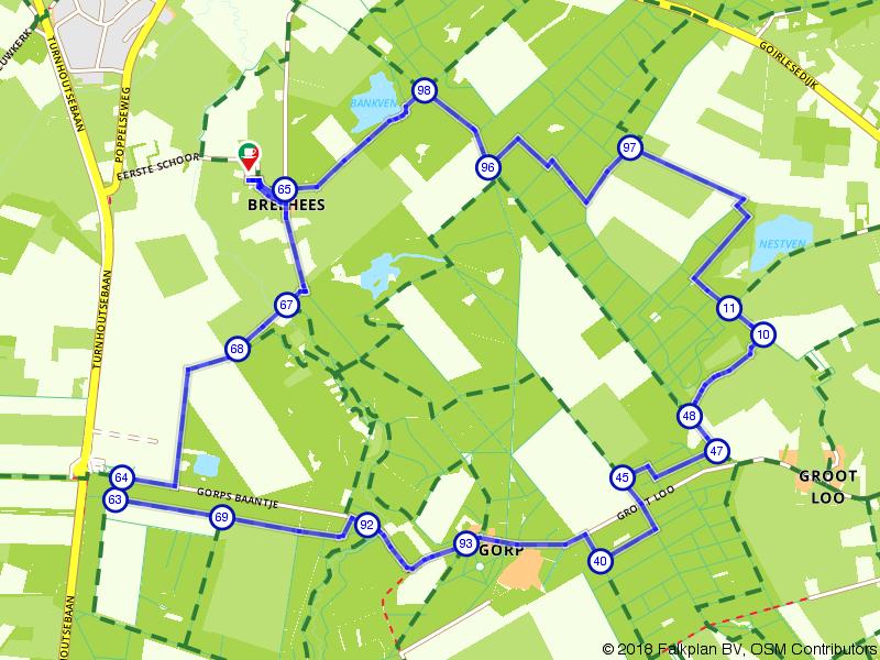 Wandelen over Landgoed Gorp en Roovert